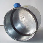 motorised damper metal