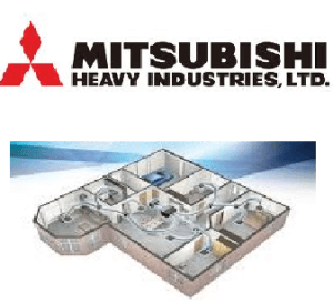 Mitsubishi Heavy industries ducted air conditioning