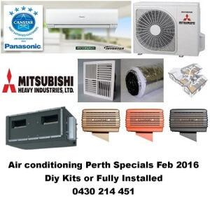 Air conditioning Perth Specials 1